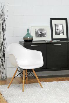 Pascal White Plastic Mid-Century Modern Shell Chair - Set of 2 on @HauteLook