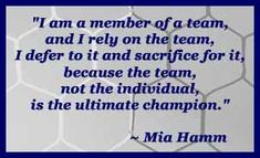 Mia Hamm quote
