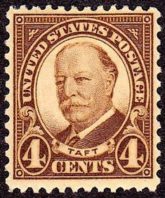 William Howard Taft 1930 Issue-4c - U.S. presidents on U.S. postage stamps - Wikipedia, the free encyclopedia