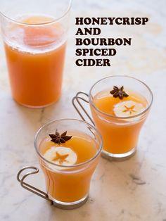Honeycrisp and Bourbon Spiced Cider