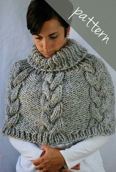Capelet chunky