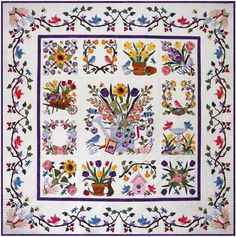Baltimore Spring quilt pattern by Pearl Pereira | P3 Designs