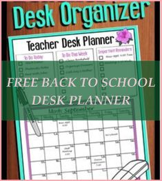 Back to school time is rapidly approaching so begin the academic year off right with these company ideas. There are back to school organization ... #p... Back To School Organization, Organization Hacks, Company Ideas, School Desks, Back To School Shopping, Getting Organized, Free, Tips, Organizing Clutter