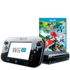 Videoconsola Wii U Mario kart 8 Premium Pack La nueva videoconsola Wii U es la consola de sobremesa de Nintendo que redefine la relación entre tu televisor y tú, y como conectarte con tus amigos y familiares. Es una potente máquina de alta definición con un sorprendente nuevo mando que redefine los videojuegos en compañía: el Wii U GamePad.
