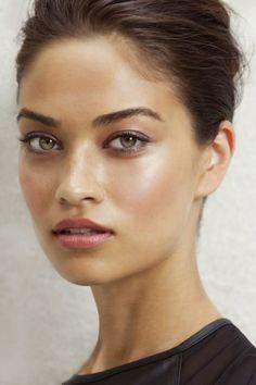 natural glowing makeup