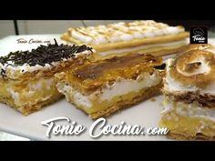 Tarta milhojas de crema y merengue, simplemente deliciosa | #TonioCocina 255 - YouTube