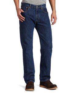 f9113d9b08e32 Levi s Men s 501 Original Fit Jean, Dark Stonewashed,  Levis   ClassicStraightLeg Workwear Fashion