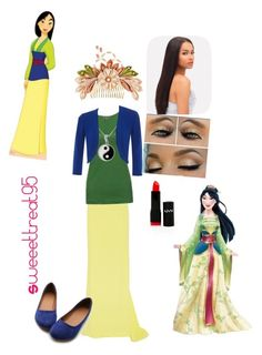 Mulan modern outfits. by sweeettreat95 on Polyvore featuring polyvore fashion style Jigsaw Hobbs J. Mendel Ollio Carolina Glamour Collection NYX Disney modern clothing