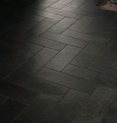 Idea Gallery Herringbone Floor