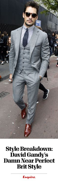 Style Breakdown: David Gandy's Damn Near Perfect Brit Style