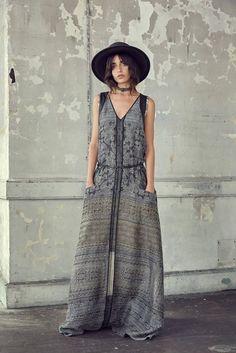 Gary Graham de Nueva York primavera / verano 2017 colección Ready-to-wear…