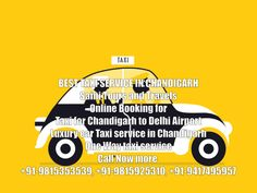 Luxury car taxi service in Chandigarh book best taxi service in Chandigarh - Delhi Airport, Famous Names, North India, Chandigarh, Taxi, Touring, Travel Tips, Luxury, Books