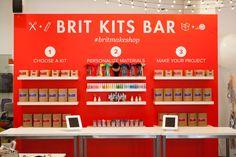 The Brit Kits Bar at #britmakeshop.