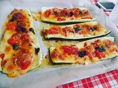 Zucchine a barchetta