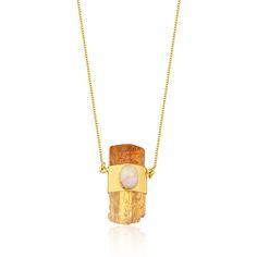 c0cd59a1d84 Colar Atlantis Ouro Amarelo - Joalheria Mamacoca