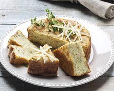 Torta salata di farro con Grana Padano e ricotta