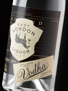 East London Liquors — The Dieline - Package Design Resource