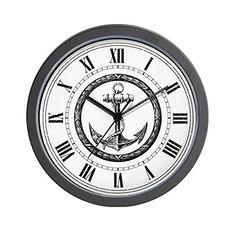 Roman Spiral Wall Clock Wall Clocks Spiral And Roman