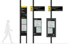 Pedestrian Wayfinding Buenos Aires on Behance