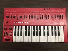 MATRIXSYNTH: Red Roland SH-101 Analog Synthesizer