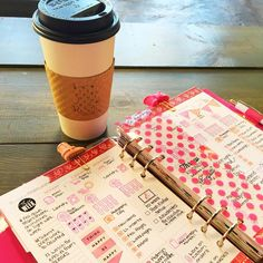 "Emilee on Instagram: ""Doing some much needed admin work this morning at the coffee shop. It's nice to get out and do some work in other surroundings. Plus you are seeing a peek into my first weeks decorated Limelife inserts for my Domino  #plannerlove #planneraddict #plannercommunity #limelifeplanner"""