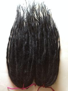 15 DE Double Ended Custom Synthetic Dreads Dreadlock Hair Extensions from damnationhair.com