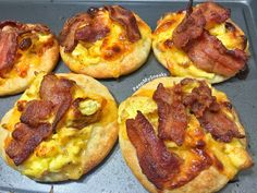 Bacon-Topped Breakfast Cookies
