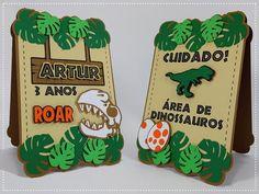 Dinasour Birthday, Dinosaur Birthday Party, Birthday Party Themes, Park Birthday, Boy Birthday, Die Dinos Baby, Dinosaur Room Decor, Cupcake Display, Baby Boy Shower
