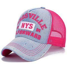 Fashion Net Yarn Baseball Cap Snapback Hat for Men Women Men s Visors Sun  Hat Bone Gorras Embroidery Caps Sun Cap Wholesale ddbd8f4e5a3