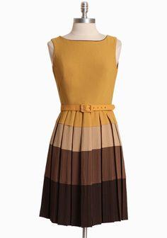 Barnaby Pleated Dress By Eva Franco | Modern Vintage Dresses