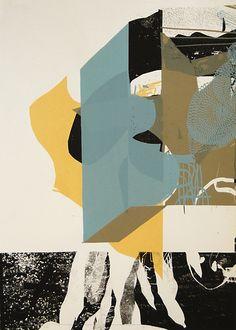 Untitled 03 - Artprint  Screenprint  51 x 72 cm  4 colors   Edition of 35  October 2011  by Damien Tran