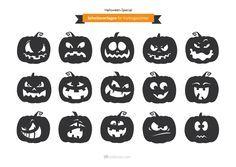 Sie Möchten Einen Halloween Kürbis Schnitzen? Dann Haben Wir Das Richtige  Für Sie: Lustige, Gruselige Und Schaurige Kürbisgesichter Als Schnitzvor