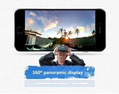 Fashion hot sale 3D VR glasses for 4.5~5.5 mobile phone| Buyerparty Inc.
