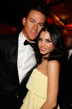 Pin for Later: Did They or Didn't They? The Best (Faux) Tans of the Red Carpet Channing Tatum and Jenna Dewan