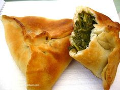 spinach pies or other finger foods - Asiel talking with aunt to get ideas
