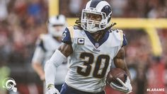 Los Angeles Rams RB#30 Todd Gurley (twitter.image) 12.17