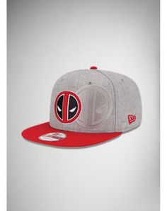 New Era Deadpool Snapback Hat