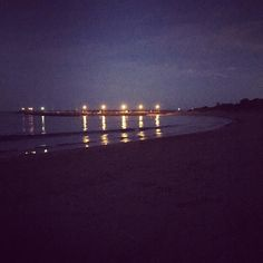 Night beach  #apollobay #pier by caitlin_siobhan http://ift.tt/1LQi8GE