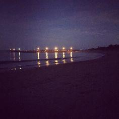 Night beach  #apollobay #pier by caitlin_siobhan http://ift.tt/1LQi8GE