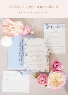 Classic Heirloom Wedding Invitations    #weddingmonogram  #weddinginvitations #weddinginvites