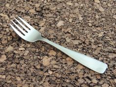 "Bogelund Jensen Eneret Rustfri BGJ1 Salad Fork Denmark Stainless Flatware 5 3/4""…"