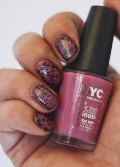 Pink Heart Nail Art   CGH LifeStyle   Posh Nail Art