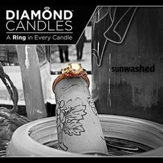 There's a ring in every soy candle! Wouldn't you love a fresh fragrance in your home as decoration or a gift? PIN NOW if you want it for Christmas! Diamond Candles, Candle Rings, Perfume, Good Enough To Eat, Future Fashion, Needful Things, Home Fragrances, Tropical Paradise, Smell Good