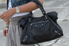 balenciaga city - such a beautiful bag, I love the slouchy look