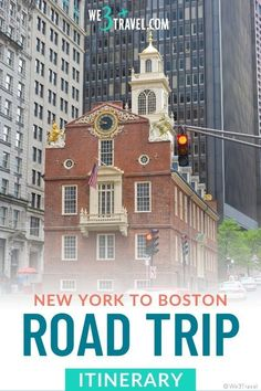 Plan a road trip through Southern New England with this New York to Boston road trip itinerary including fun stops in Connecticut, Rhode Island, and Massachusetts. Perfect for a family vacation or adjustable for a long weekend getaway. Road Trip With Kids, Family Road Trips, New England Travel, New York Travel, East Coast Travel, Family Vacation Destinations, Road Trip Hacks, Long Weekend, Rhode Island