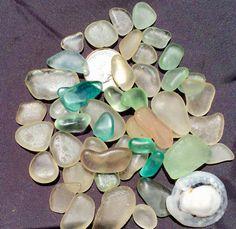 Sea Glass or Beach Glass of Hawaii beaches by SeaGlassFromHawaii