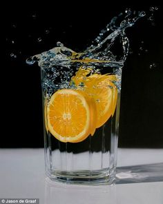 No, they're not photographs: Astonishing acrylic paintings which are so detailed they look like they were taken on a camera    Read more: http://www.dailymail.co.uk/news/article-Astonishing acrylic paintings detailed look like taken camera.   Wave Of Refreshment: Acrylic on canvas 30in x 24in