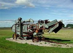 Old Farm Equipment Along Minnesota Highway 11