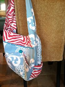 Prudently Painted Vintage: A diaper bag tutorial