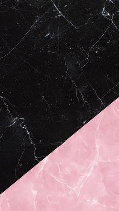 Wallpaper Milano - Black & Rose Marble by Gocase Gocase, loveg. Marble Wallpaper Phone, Black Wallpaper Iphone, Phone Screen Wallpaper, Graphic Wallpaper, Iphone Background Wallpaper, Pastel Wallpaper, Aesthetic Iphone Wallpaper, Galaxy Wallpaper, Rose Wallpaper